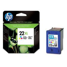 HP 22XL Extra Large Capacity Colour Ink Cartridge (C9352C)