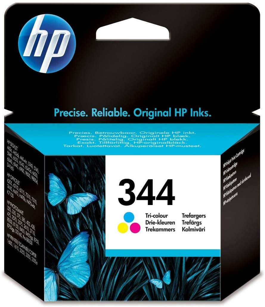 HP 344 High Capacity Vivera Colour Ink Cartridge (C9363E)