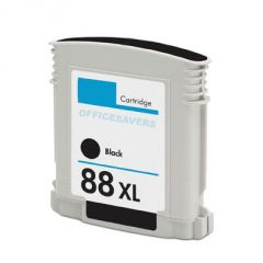 HP 88XL High Capacity Vivera Black Ink Cartridge - Blister Packaging