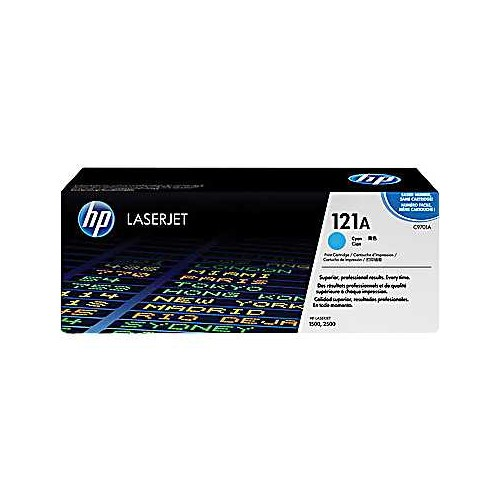 HP C9701A Cyan (121A) Toner Cartridge