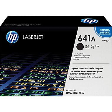 HP C9720A Black (641A) Toner Cartridge