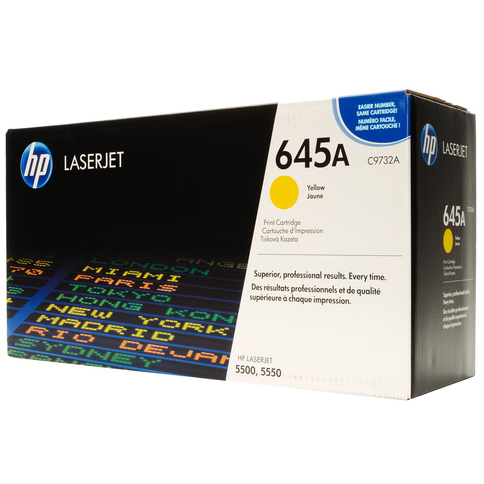 HP C9732A Yellow (645A) Toner Cartridge