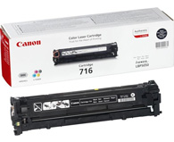 Canon 716BK Black Laser Toner Cartridge - 1980B002AA