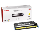 Canon 717Y Yellow Toner Cartridge - 2575B002AA