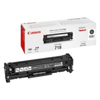 Canon 718BK Black Laser Toner Cartridge - 2662B002AA