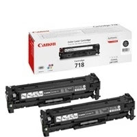 Canon 718 Twin Black Toner Cartridges - 2662B005AA