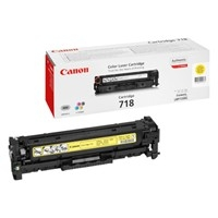 Canon 718Y Yellow Laser Toner Cartridge - 2659B002AA
