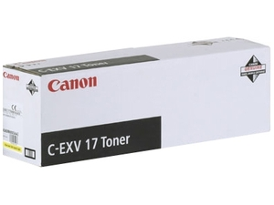 Canon CEXV17 Yellow Copier Toner Cartridge (C-EXV17) - 0259B002AA