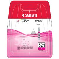 Canon ChromaLife100 CLI 521M Magenta Ink Cartridge ( 521M )