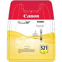 Canon ChromaLife100 CLI 521Y Yellow Ink Cartridge ( 521Y )