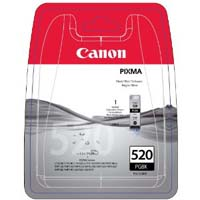 Canon PGI 520BK Pigmented Black Ink Cartridge ( 520BK )