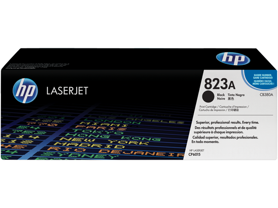 HP CB 380A Black (823A) Toner Cartridge - CB380A