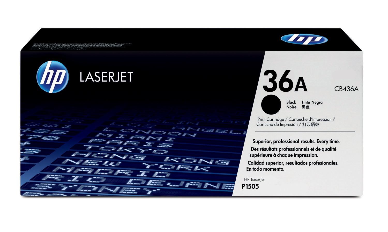 HP 36A Laser Cartridge - CB436