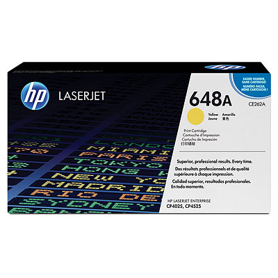 HP CE262A Yellow (648A) Toner Cartridge - CE 262A