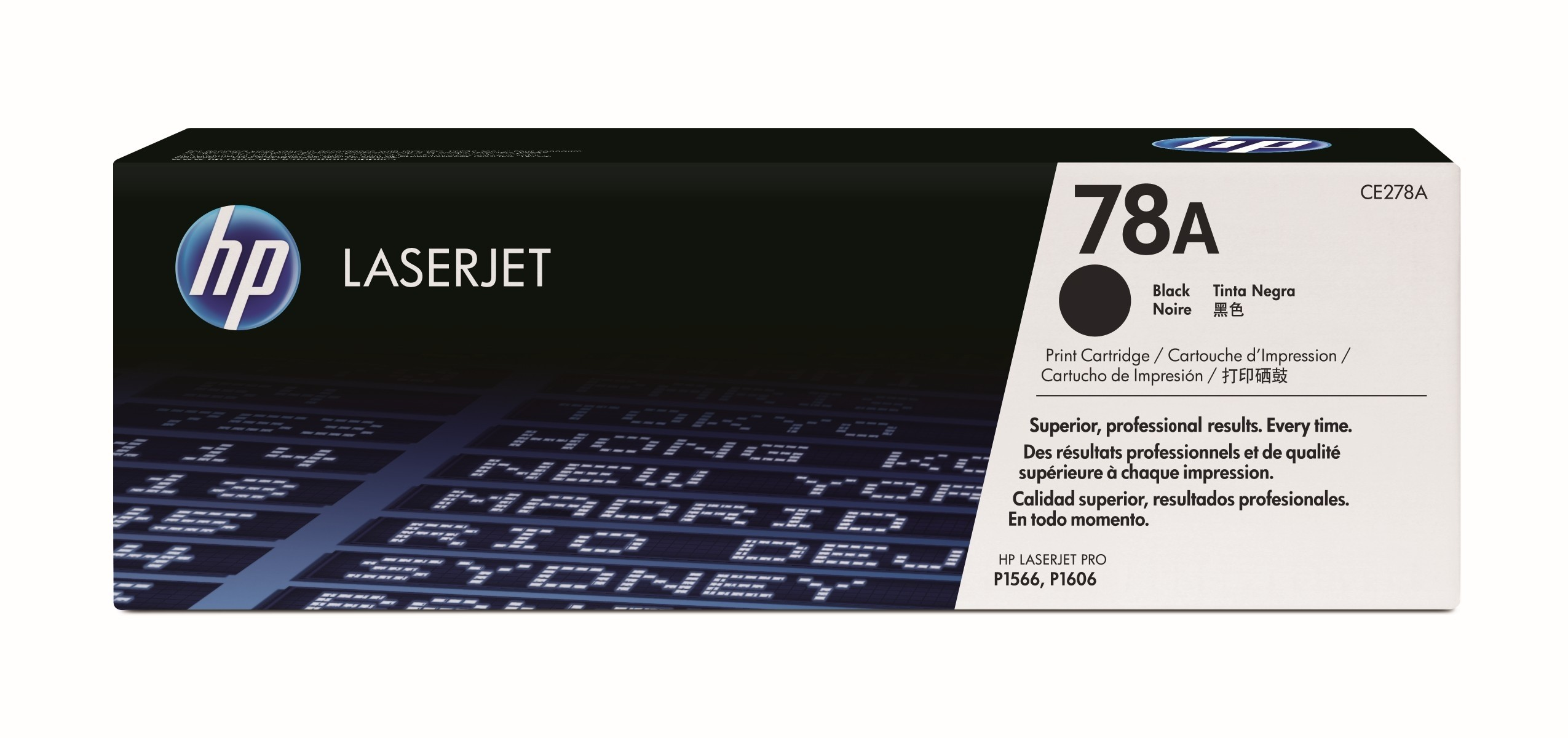 HP CE278A Black (78A) Toner Cartridge - CE 278A