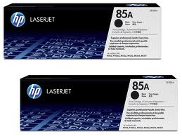 HP CE285AD Twin Pack Black (85A) Toner Cartridges - CE 285AD