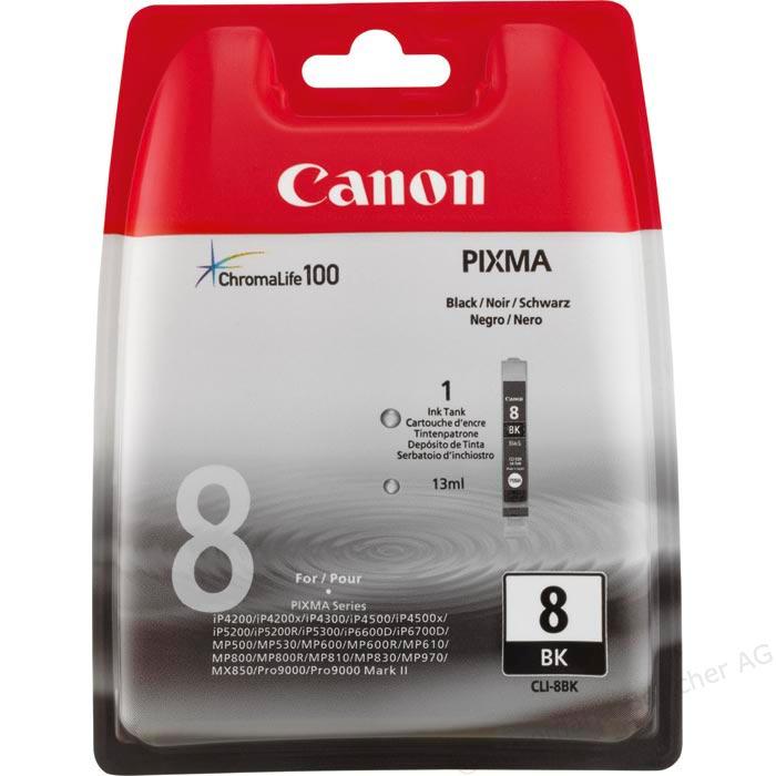 Canon CLI-8 Black Ink Cartridge ( 8BK )