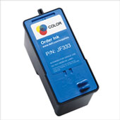 Dell JF333 Color Ink Cartridge (PN 18C1160)
