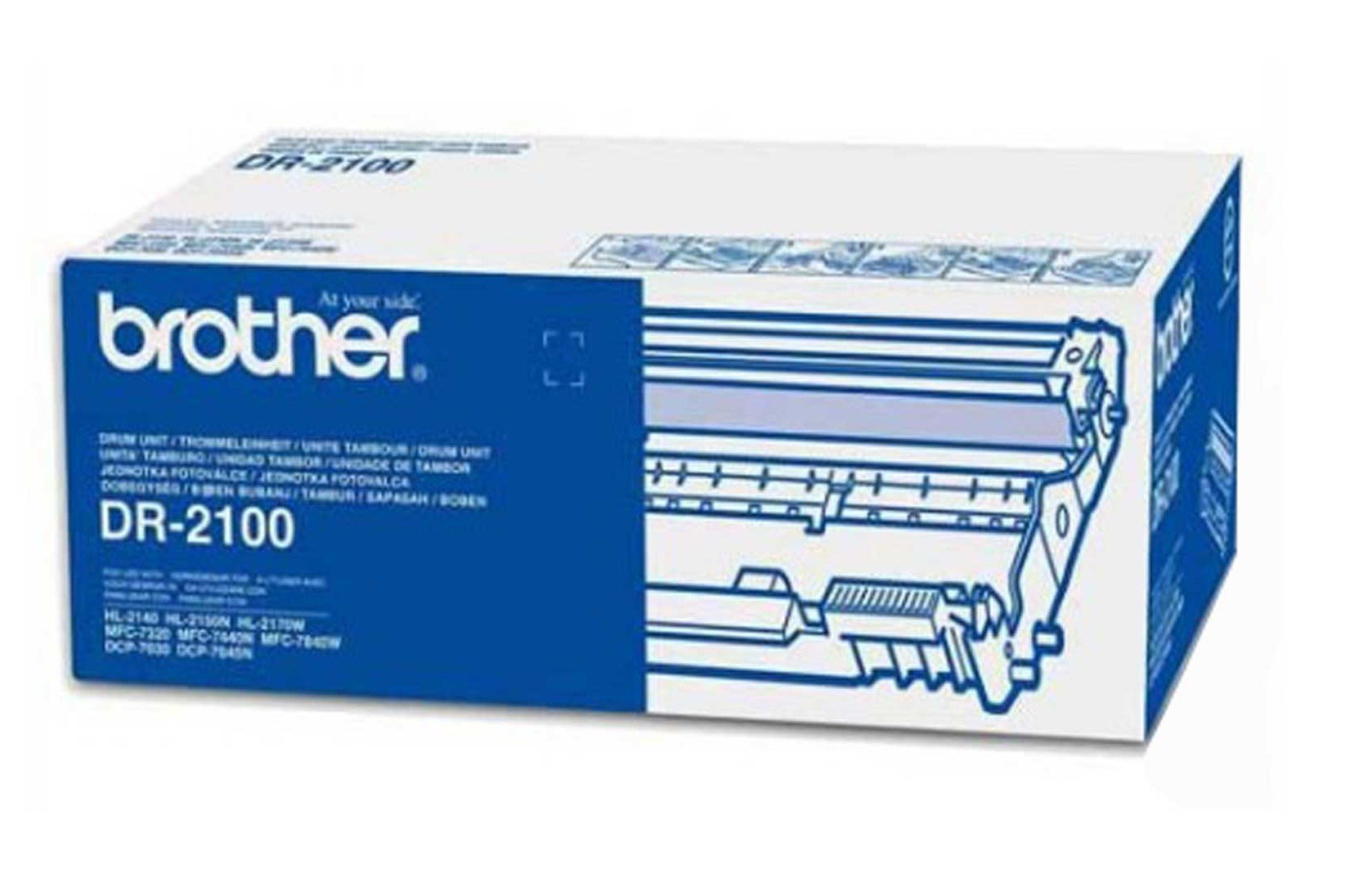 Brother DR2100 Image Drum Unit DR-2100, 12K Page Yield