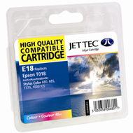 Jet Tec ( Made in the UK) Colour Ink Cartridge for T018401, 48ml