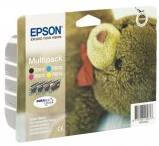 Epson T0615 Quad Pack DuraBrite Ultra (Black, Cyan, Magenta, Yellow) Ink Cartridges