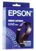 Epson S015066 Black Fabric Ribbon - C13S015066