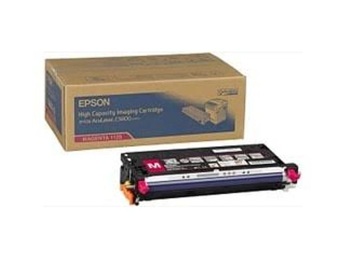 Epson C13S051125 High Capacity Magenta Toner Cartridge, 9K