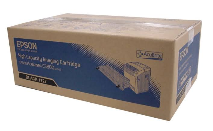 Epson C13S051127 Black Toner Cartridge, 9.5K