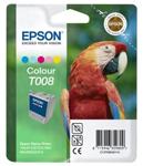 Epson T008 Color Ink Cartridge C13T008401