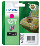 Epson T0343 Ultrachrome Magenta Ink Cartridge