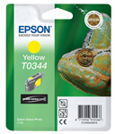 Epson T0344 Ultrachrome Yellow Ink Cartridge