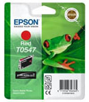 Epson T0547 UltraChrome Hi-Gloss Red Ink Cartridge