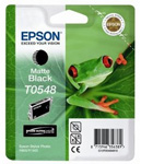 Epson T0548 UltraChrome Hi-Gloss Matte Black Ink Cartridge