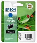 Epson T0549 UltraChrome Hi-Gloss Blue Ink Cartridge