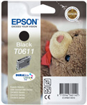 Epson T0611 DuraBrite Ultra Black Ink Cartridge