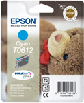 Epson T0612 DuraBrite Ultra Cyan Ink Cartridge