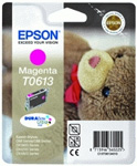 Epson T0613 DuraBrite Ultra Magenta Ink Cartridge