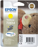 Epson T0614 DuraBrite Ultra Yellow Ink Cartridge