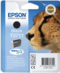 Epson T0711 DuraBrite Ultra Black Ink Cartridge