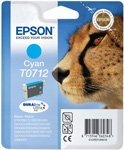 Epson T0712 DuraBrite Ultra Cyan Ink Cartridge