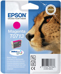 Epson T0713 DuraBrite Ultra Magenta Ink Cartridge