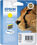 Epson T0714 DuraBrite Ultra Yellow Ink Cartridge