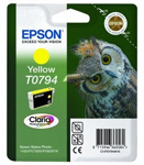 Epson T0794 Claria Photographic Yellow Ink Cartridge