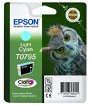 Epson T0795 Claria Photographic Light Cyan Ink Cartridge