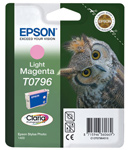 Epson T0796 Claria Photographic Light Magenta Ink Cartridge