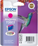 Epson T0803 Claria Photographic Magenta Ink Cartridge