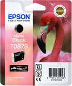 Epson T0878 UltraChrome Hi-Gloss2 Matte Black Ink Cartridge