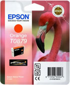 Epson T0879 UltraChrome Hi-Gloss2 Orange Ink Cartridge