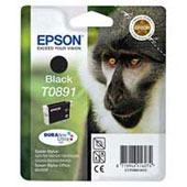 Epson T0891 DuraBrite Ultra Black Ink Cartridge ( Monkey )