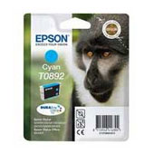 Epson T0892 DuraBrite Ultra Cyan Ink Cartridge ( Monkey )